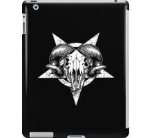 Pentangle - Pentagram / Goat iPad Case/Skin