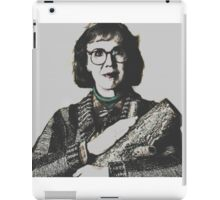 Twin Peaks Log Lady iPad Case/Skin