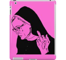 Sister Jude Middle Finger iPad Case/Skin