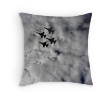 Flight into the Light Throw Pillow