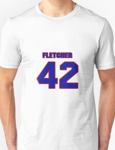National Hockey player Steven Fletcher jersey 42 T-Shirt