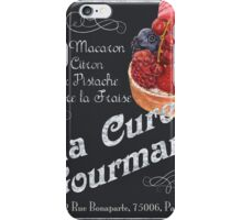 La Cure Gourmande iPhone Case/Skin