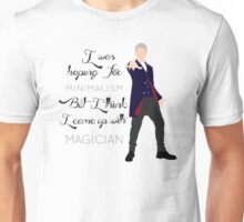 I came up with magician Unisex T-Shirt