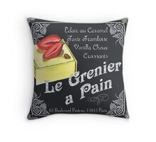 Le Grenier a Pain Throw Pillow