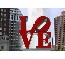 Love Park Photographic Print