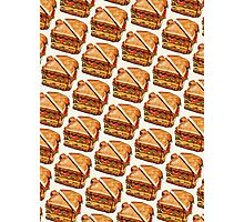 Turkey Club On White Pattern Photographic Print