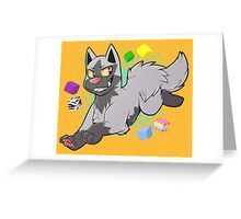 Pokemon - Poochyena Greeting Card