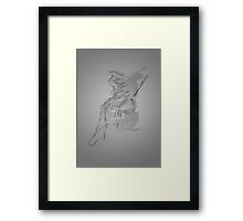 Soldier Two Framed Print