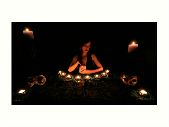 The Tarot Reader by Geoff  Coleman - Landscapes