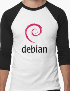 Debian Men's Baseball ¾ T-Shirt