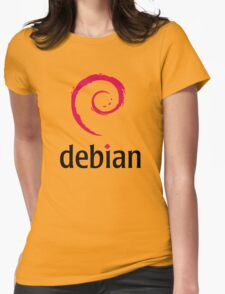 Debian Womens Fitted T-Shirt
