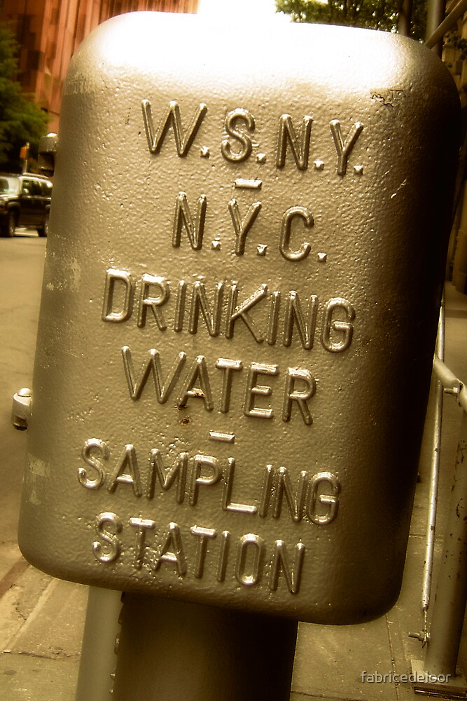 Thirsty in NY ? by fabricedeloor