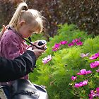 Budding photographer by Peter Hardy