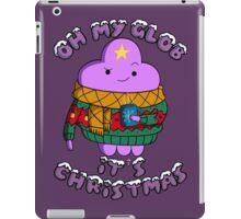 Lumpy Space Princess - Oh My Glob It's Christmas iPad Case/Skin