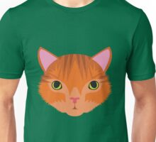 Ginger Tom Cat Unisex T-Shirt