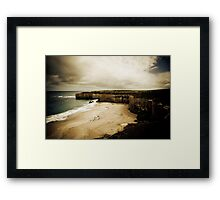 The Shipwreck Coast, Great Ocean Road, Victoria Framed Print