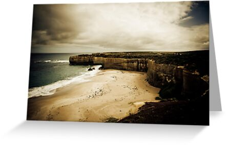 The Shipwreck Coast, Great Ocean Road, Victoria by Samantha Cole-Surjan