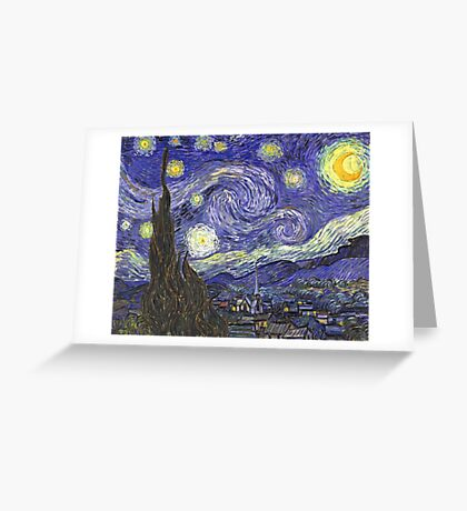 Vincent van Gogh, Starry Night Greeting Card
