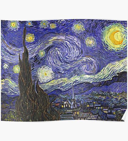 Vincent van Gogh, Starry Night Poster