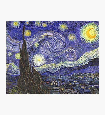 Vincent van Gogh, Starry Night Photographic Print