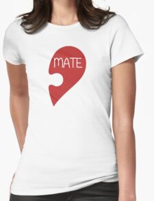 Soulmate Valentine's Day Love Heart Womens Fitted T-Shirt