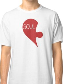 Soulmate Valentine's Day Love Heart Classic T-Shirt