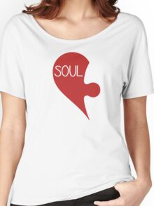 Soulmate Valentine's Day Love Heart Women's Relaxed Fit T-Shirt