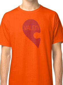 Valetine Valentine's Day Love Heart Classic T-Shirt