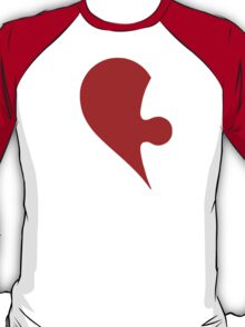 Puzzle Pieces Love Heart T-Shirt