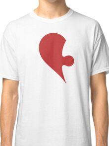 Puzzle Pieces Love Heart Classic T-Shirt