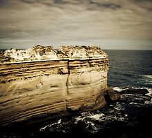 The Razor Back, Great Ocean Road, Victoria by Samantha Cole-Surjan