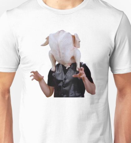 Joey Tribbiani Turkey Head Unisex T-Shirt