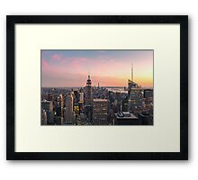 NEW YORK CITY 17 Framed Print