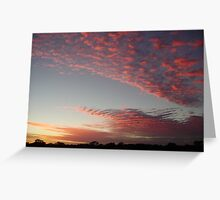 Outback Sunrise Greeting Card