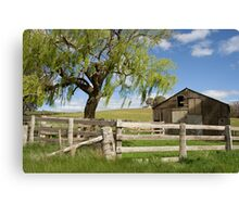 Derelict Barn Canvas Print