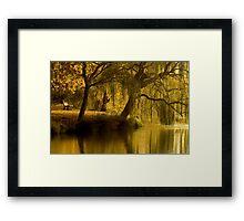 Lake Weeroona Reflection Framed Print