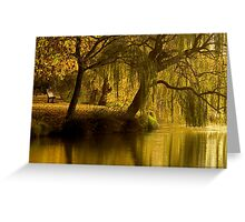 Lake Weeroona Reflection Greeting Card