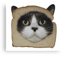 Breaded Inbread Cat Breading Canvas Print