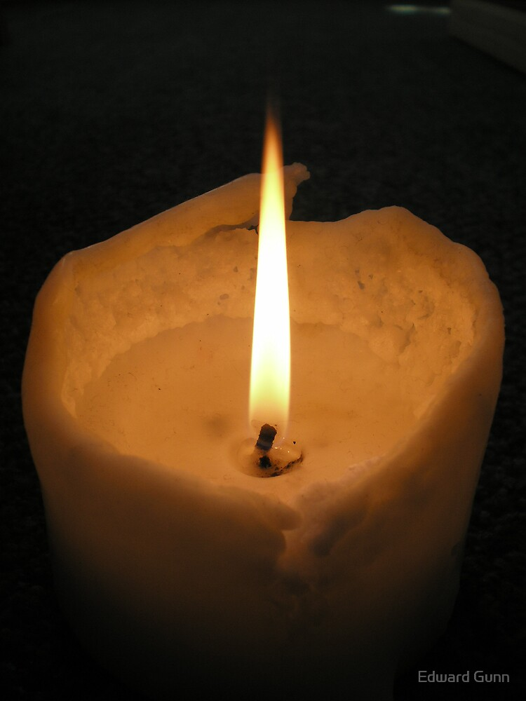 Candle Light by Edward Gunn