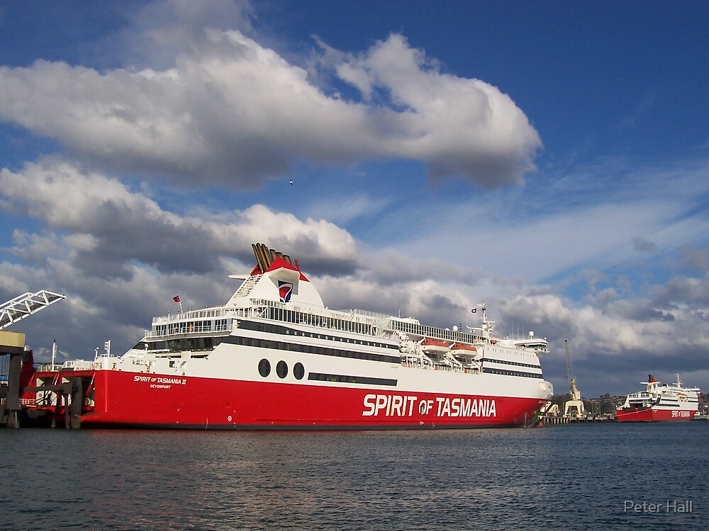 Spirit of Tasmania II, & III by Peter Hall