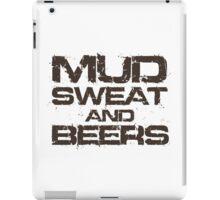 Mud Sweat and Beers iPad Case/Skin