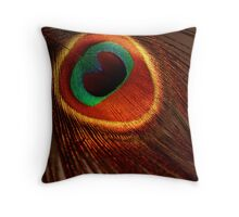 Ring Around My Heart Throw Pillow