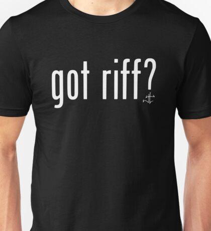 got riff ? Unisex T-Shirt