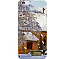 Warmth of a Church in Winter.  iPhone Case/Skin