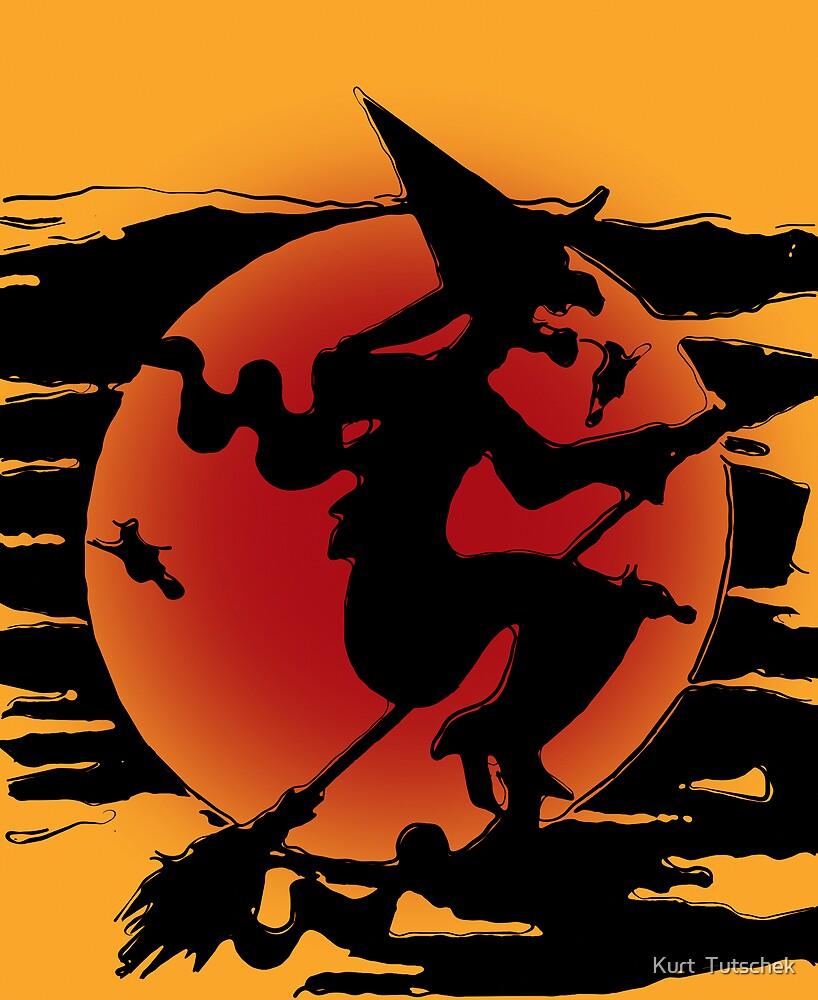 The witch by Kurt  Tutschek
