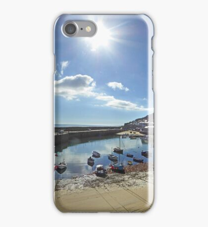 Mousehole Autumn Sun iPhone Case/Skin