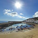 Mousehole Autumn Sun by George Crawford
