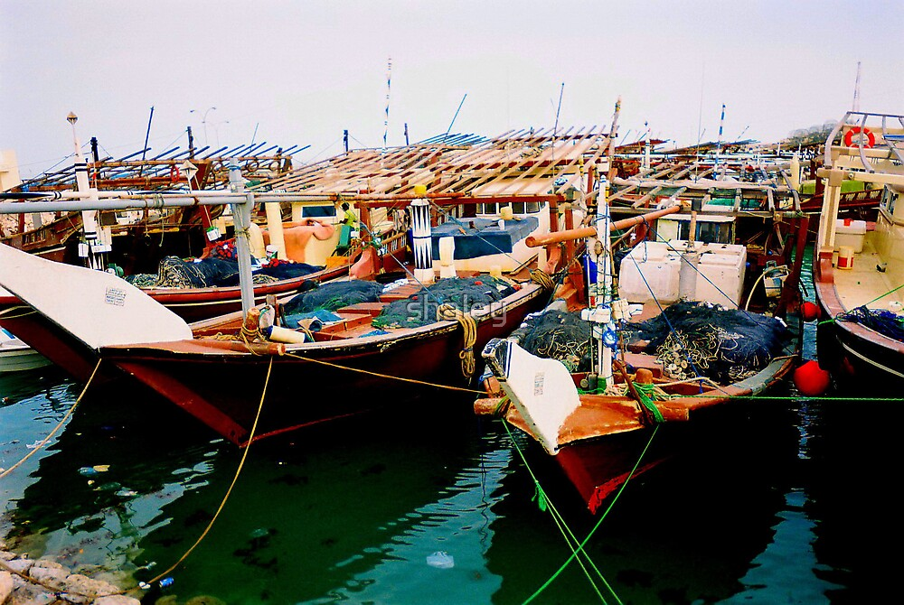 Dhows of Doha by shaley