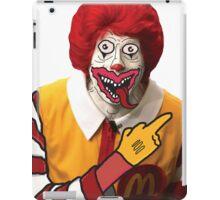 Rude Ronald McDonald iPad Case/Skin