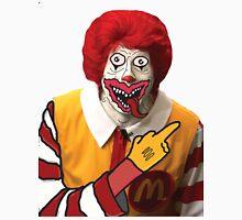 Rude Ronald McDonald Unisex T-Shirt